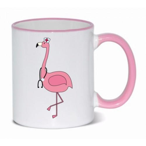 Mug Flamingo Pink
