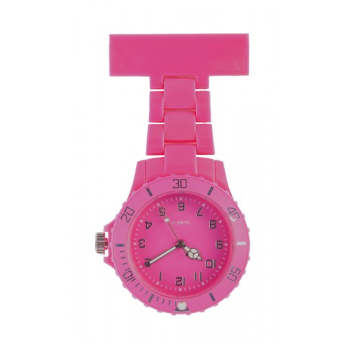 Neon Nurses Fob Watch Fuchsia
