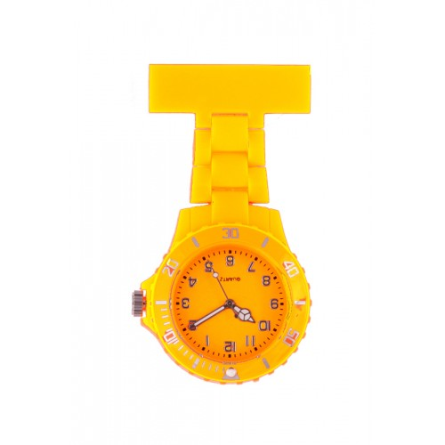 Neon Nurses Fob Watch Yellow
