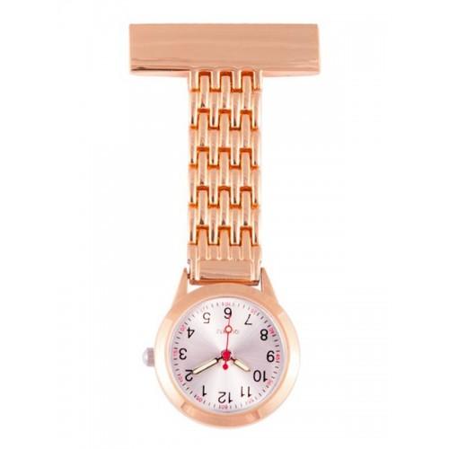 Elegant Fob Watch Rose Gold