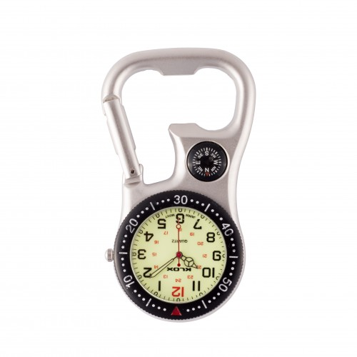 Carabiner Clip Watch NOC463 Black