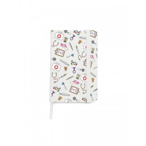 Notebook A5 Medical Symbols