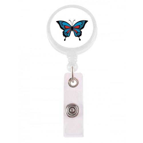 Retracteze ID Holder Butterfly