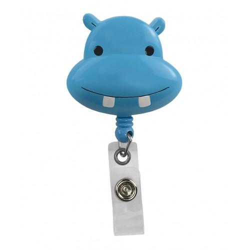 Deluxe Retracteze ID Holder Hippo