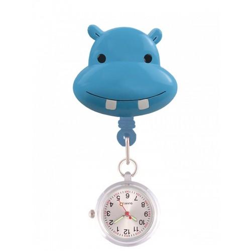 Retracteze Fob Watch Hippo