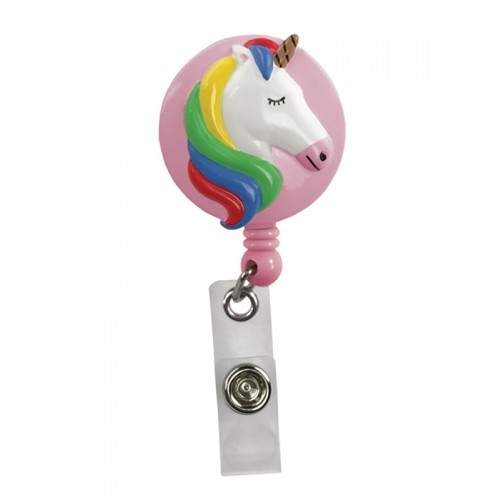 Deluxe Retracteze ID Holder Unicorn