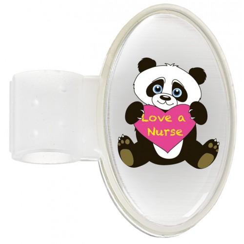 Stethoscope ID Tag Panda