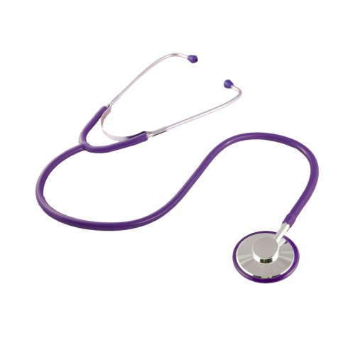 Stethoscope Basic Single Purple