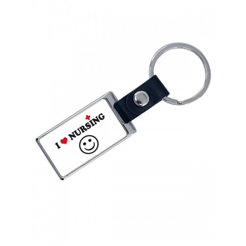 Luxe Key Chain Love Nursing with Name Print