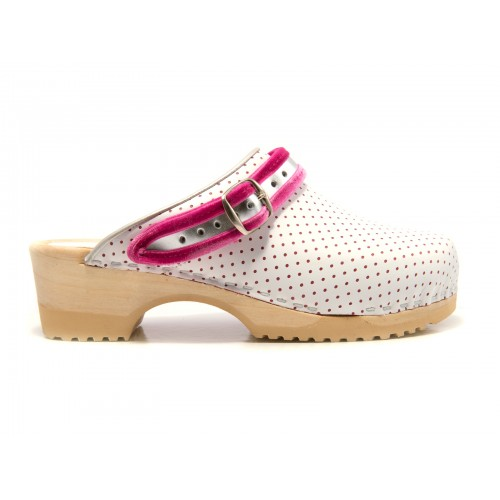Tjoelup Straps White Pink