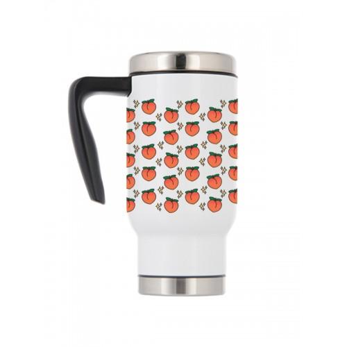 Thermo Travel Mug Peaches